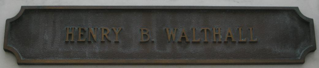 Crypt Name Plate